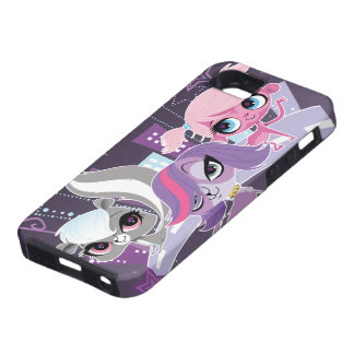 Littlest Pets in the Big City 2 iPhone SE/5/5s Case