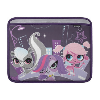 Littlest Pets in the Big City 2 Sleeve For MacBook Air