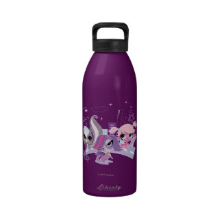 Littlest Pets in the Big City 2 Reusable Water Bottle