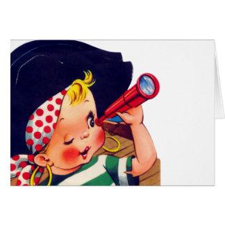 Littlest Pirate Card