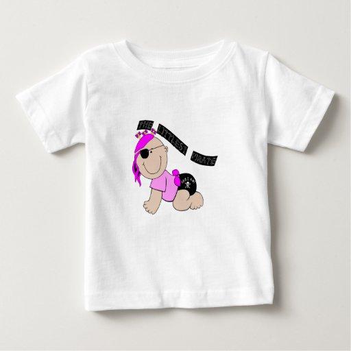 Littlest Pirate (Girl) Infant T-Shirt