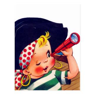 Littlest Pirate Postcard