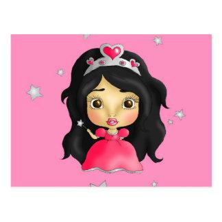 Littlest princess postcard