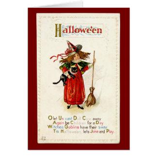 Littlest Witch -2 - Halloween Card