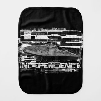 Littoral combat ship Independence Burp Cloth