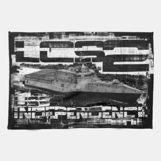 Littoral combat ship Independence Kitchen Towels