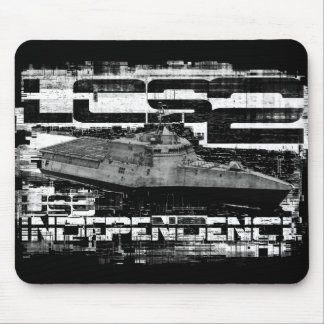Littoral combat ship Independence Mousepad