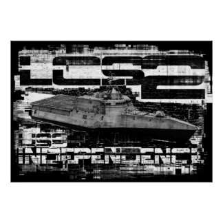 Littoral combat ship Independence Poster