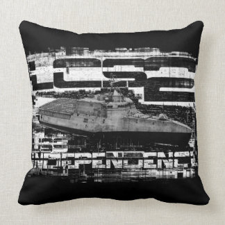 Littoral combat ship Independence Throw Pillow