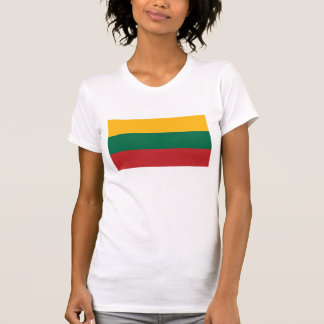 Lituania - bandera nacional lituana camiseta