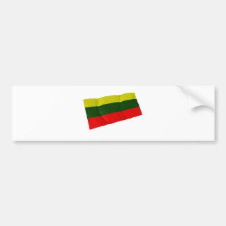 Lituania Pegatina De Parachoque