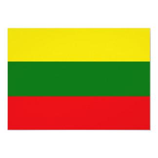 Lituania Invitación 12,7 X 17,8 Cm