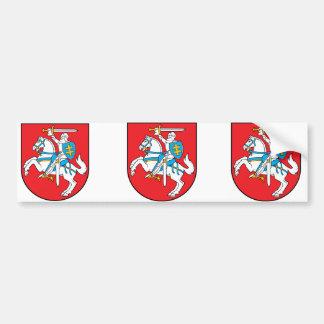 Lituania Lituania Etiqueta De Parachoque