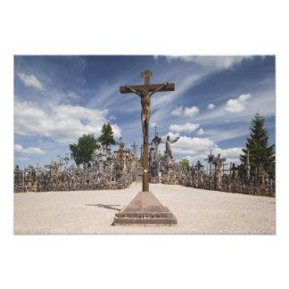 Lituania, Lituania central, Siauliai, colina Impresiones Fotograficas