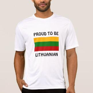 Lituania: Orgulloso ser lituano Camisetas