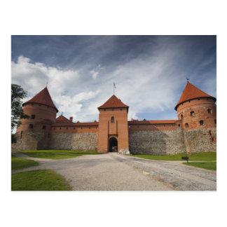 Lituania, Trakai, nacional histórico 4 de Trakai Postales
