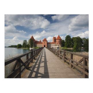 Lituania, Trakai, nacional histórico de Trakai Tarjetas Postales