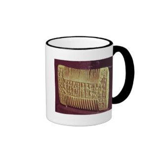 Liturgical comb, School of St.Albans, c.1120 Coffee Mugs