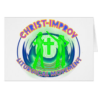 Liturgical Dance improvisation in Christs Name Card