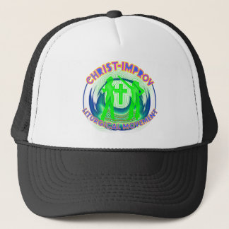 Liturgical Dance improvisation in Christs Name Trucker Hat