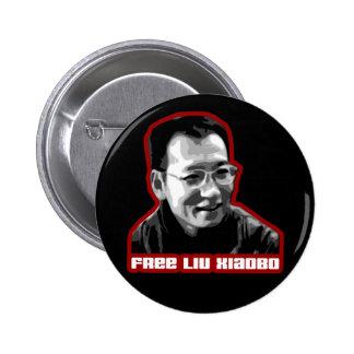 Liu libre Xiaobo Pin Redondo 5 Cm