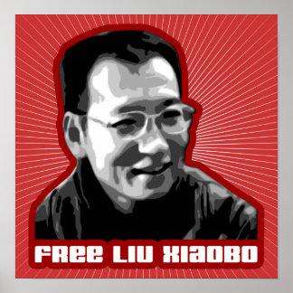 Liu libre Xiaobo Póster