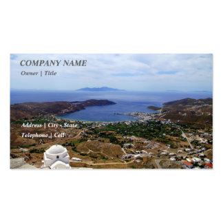 Livadakia – Serifos Business Card Templates
