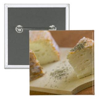 Livarot - Normandía - Francia - queso de AOC para Pin Cuadrado