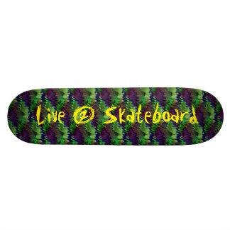Live2Skateboard Skateboard Deck