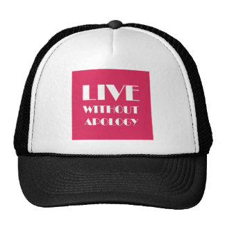 LIVE3.jpg Trucker Hat
