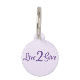 Live 2 Give SM Dog Tag