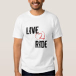 """Live 2 Ride"" Sledders.com White T-Shirt"