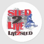 Live 2 Sled Sled 2 Live Stickers