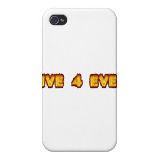 live 4 ever cases for iPhone 4
