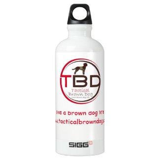 Live a Brown Dog Life Sports Bottle (Sigg)