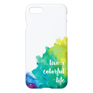 Live a Colorful Life iPhone 8/7 Case