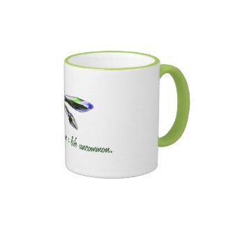 Live a Life Uncommon - Dragonfly Mug