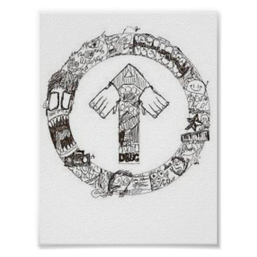 Live Above The Influence Print