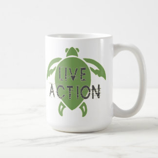 Live Action Coffee Mug