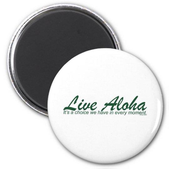 Live Aloha Landscape Design Magnet