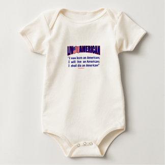 Live American Born Infant Live Die D. Webster Baby Bodysuit