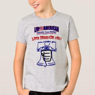Live American Free Die Bell Fist idol T-Shirt