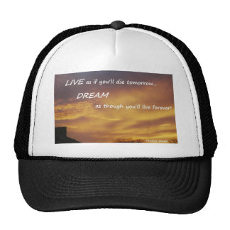 Live and Dream Trucker Hat