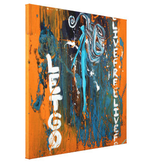 Live And Let Go (Wrapped Canvas) Canvas Print