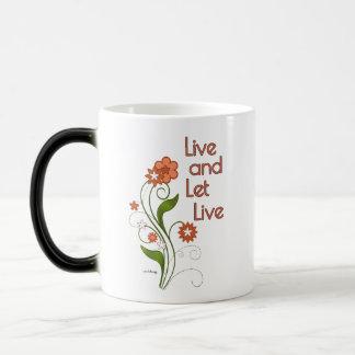 Live and Let Live (12 step programs) Magic Mug