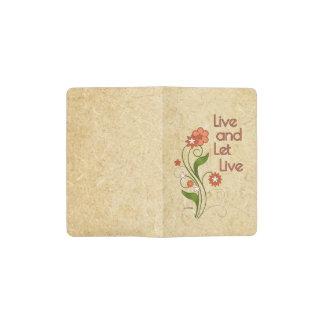 Live and Let Live (12 step programs) Pocket Moleskine Notebook