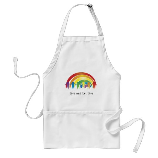 Live And Let Live Adult Apron
