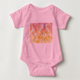 Live and Let Live Branches Baby Bodysuit