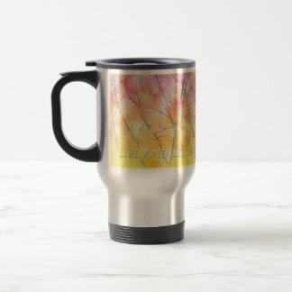 Live and Let Live Branches Travel Mug