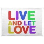 Live and let Love Placemat